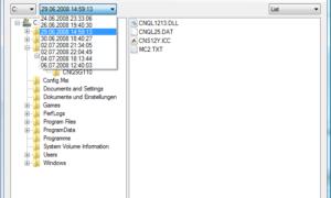 Cómo usar ShadowExplorer para acceder y restaurar las copias de sombra