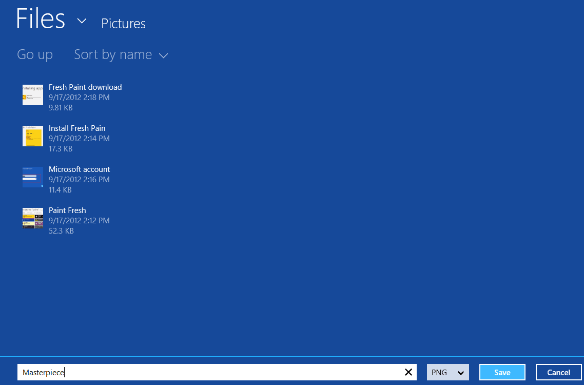 Fresh Paint para Windows 8