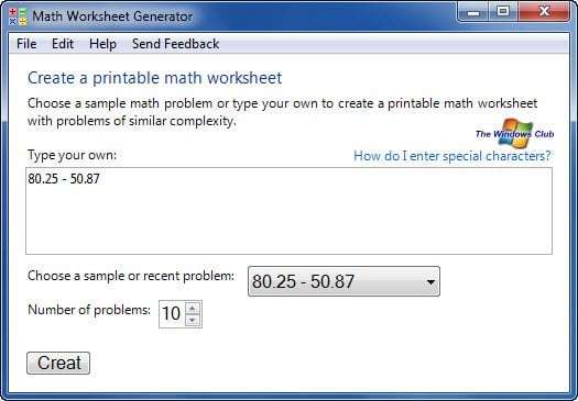 Generador de hojas de cálculo gratuito para estudiantes de Microsoft