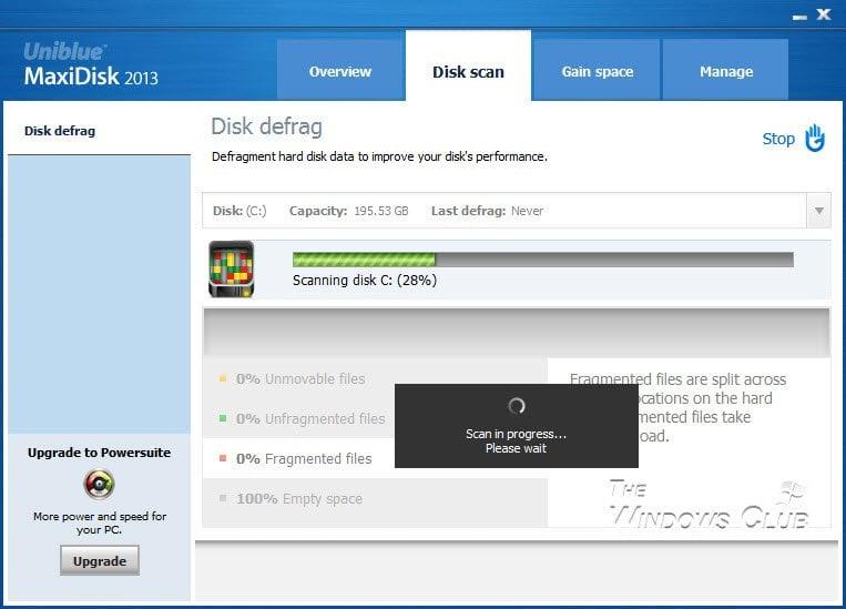 Revisión y descarga de MaxiDisk 4