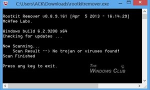Descargar McAfee Rootkit Remover para Windows