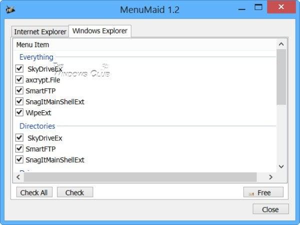 Agregar, quitar y editar elementos del menú contextual en Windows 10 con los editores del menú contextual