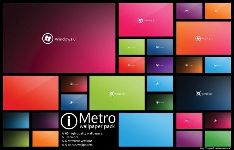 Descargue el Paquete de Fondos de Pantalla de Metro para Windows 8