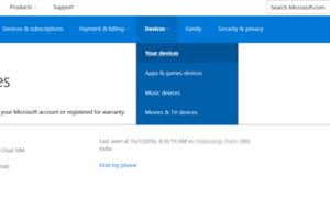 Eliminar PC de confianza de una cuenta de Microsoft