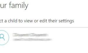 Cómo configurar la familia en Windows 10