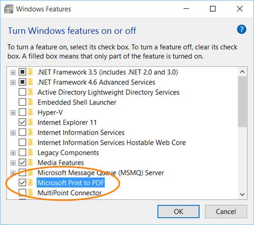 Imprima a PDF en Windows 10 sin usar ningún software 3