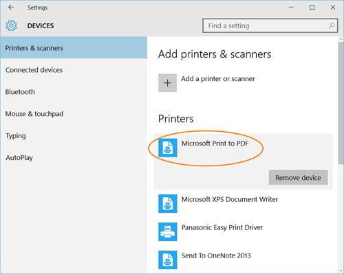 Imprima a PDF en Windows 10 sin usar ningún software 2
