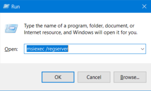 Corregido Error 1310, Error al escribir en un archivo en sistemas Windows
