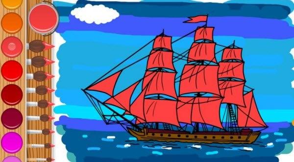 Mis páginas para colorear: Aplicación gratuita de Windows 10 para niños