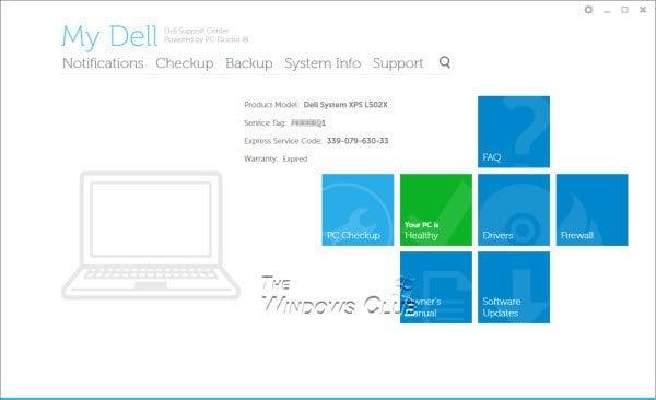 El software del Centro de asistencia de Dell ayuda a mantener el PC de Dell actualizado y en funcionamiento de manera eficiente. 1