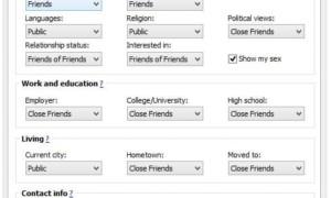 MyFacePrivacy: Software gratuito para administrar la configuración de privacidad de Facebook, Twitter y LinkedIn