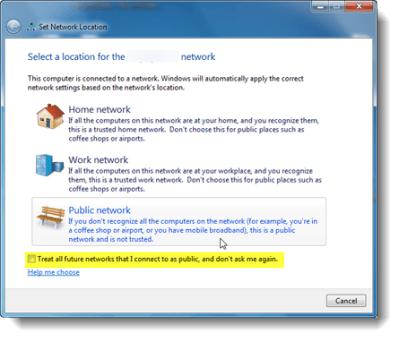 Arreglo: El acoplamiento de la conexión de red de Windows 7 no es clicable