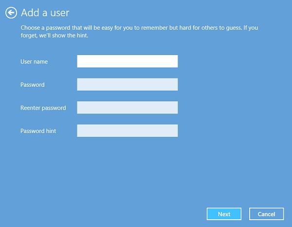 Cómo crear una nueva cuenta de usuario en Windows 10/8.1
