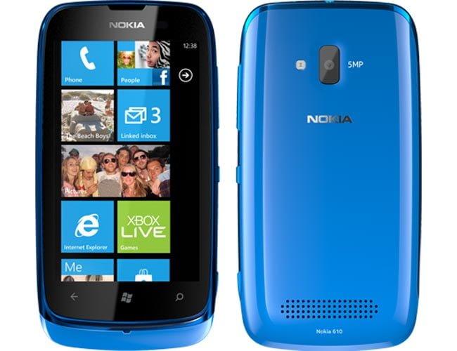 Nokia lanza Lumia 610 Windows Phone con el precio de Rs. 12999 en la India 1