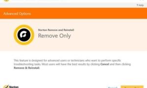 Quitar y volver a instalar los productos Norton con la herramienta Norton Quitar y volver a instalar