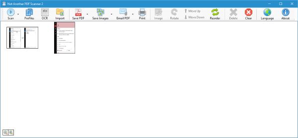 NAPS2 o Not Another PDF Scanner le permite escanear documentos a PDF