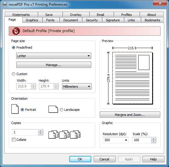 Sorteo: novaPDF Pro - Un software de creación e impresión de PDF para Windows
