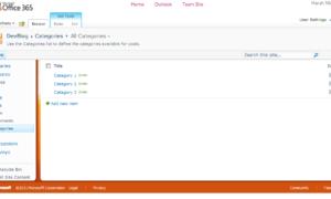 Cómo configurar tu Blog en Office 365