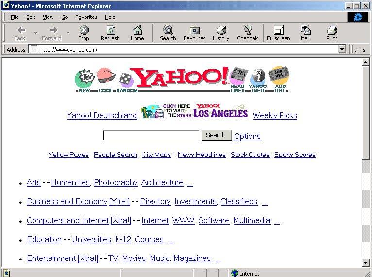 Navegue por Internet desde sus inicios con OldWeb.today