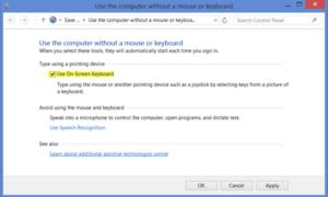 Teclado en pantalla de Windows: Opciones y ajustes