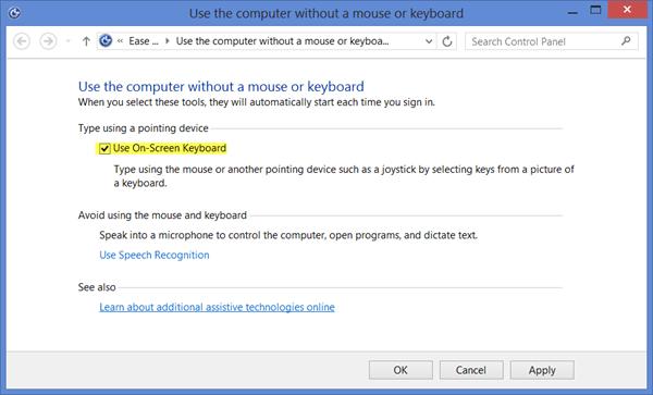 Teclado en pantalla de Windows: Opciones y ajustes 7