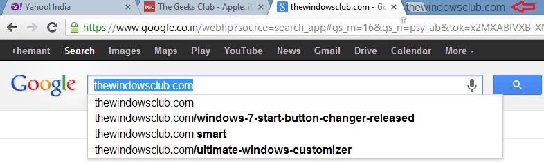 Forzar enlaces para abrir en segundo plano en IE, Firefox, Chrome, Opera 5