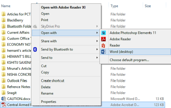 How to edit PDF files in Microsoft Word 1