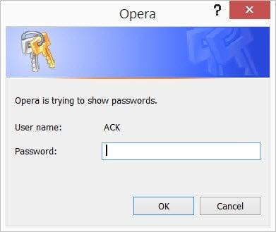 Cómo ver y gestionar las contraseñas guardadas en Opera