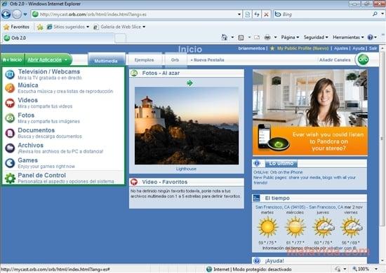 Comparte gratuitamente tus archivos multimedia de gran tamaño a través de P2P con Orb