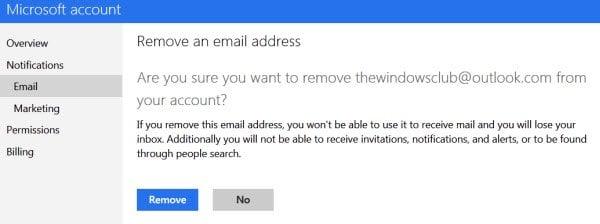 Cómo crear un nuevo alias de correo electrónico de Outlook.com