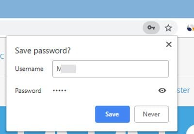 Administrar, editar y ver las contraseñas guardadas en el navegador Chrome en un PC con Windows
