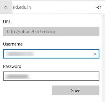 Habilitar y administrar contraseñas y rellenar formularios en el navegador Edge