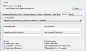 Software gratuito para crear, convertir y proteger con contraseña documentos PDF