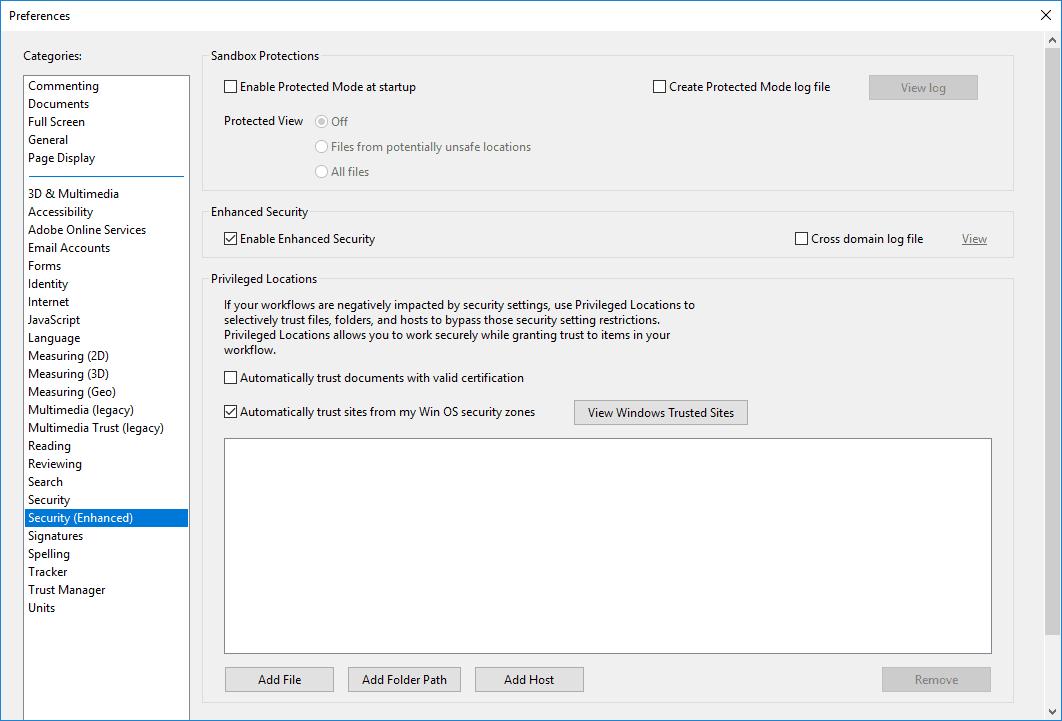 Adobe Reader no funciona en Windows 10 2