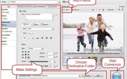 Sorteo: 21 licencias del software PearlMountain Photo Watermark