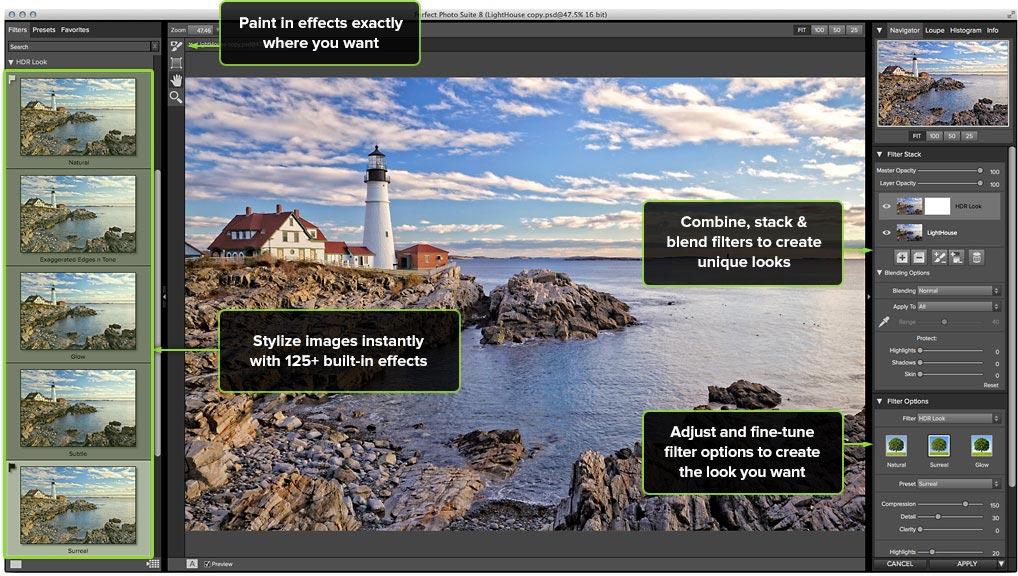 Efectos perfectos: Crea efectos especiales y transforma tus fotos 1