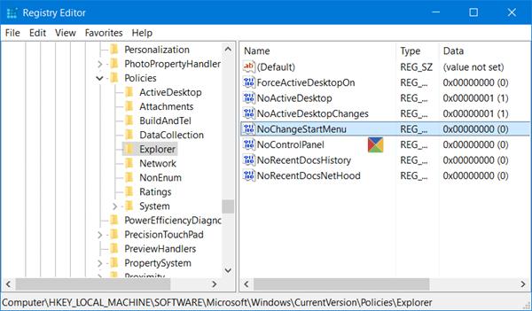Pin para Iniciar no funciona en Windows 10