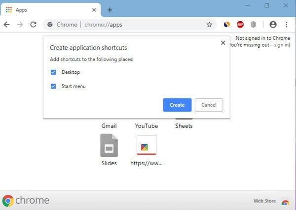 Cómo anclar un sitio web al menú Inicio de Windows 10 usando Chrome, Firefox, IE
