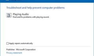 La voz de Cortana no funciona en Windows 10