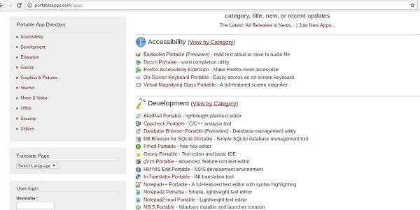 Lista de sitios web para descargar la versión antigua de software para Windows