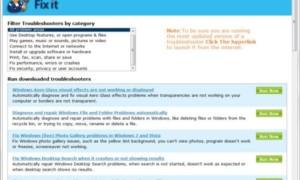 Descargar Portable Fix It Troubleshooters Suite desde Microsoft
