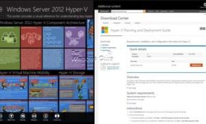 Servidor Posterpedia: La aplicación Windows Store le ayudará a comprender las tecnologías de Microsoft