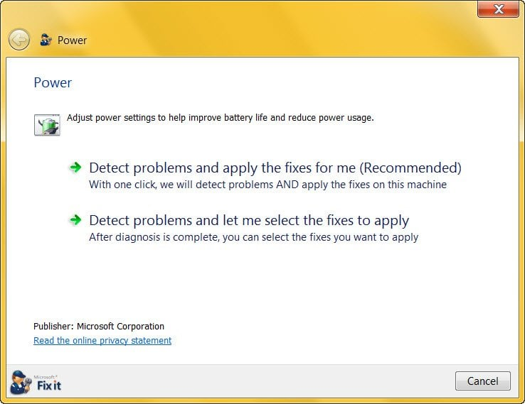 El ordenador con Windows se apaga en lugar de estar en suspensión