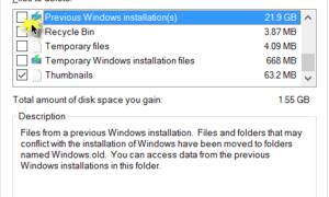 ¿Puedo eliminar las carpetas $Windows.~BT y $Windows.~WS después de la actualización a Windows 10?