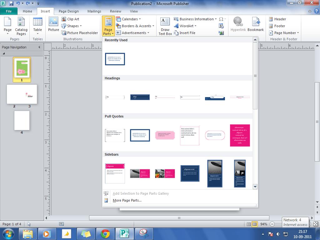 Cómo diseñar tarjetas de felicitación en Microsoft Publisher