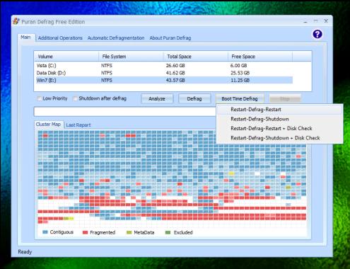 El mejor software gratuito de desfragmentación para Windows 10/8/7