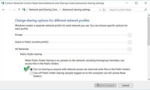 Compartir o transferir archivos entre cuentas de usuario en Windows 10/8/7