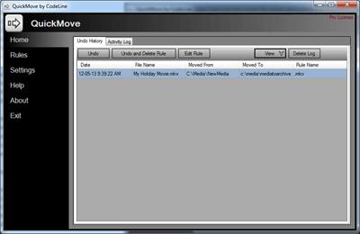Mover archivos automáticamente a carpetas en Windows 10/8/7 2