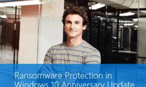 Protección de Ransomware en Windows 10