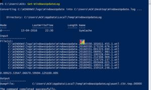 Cómo leer el registro de Windows Update en Windows 10